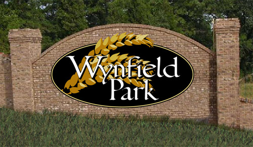 Wynfield Park sign