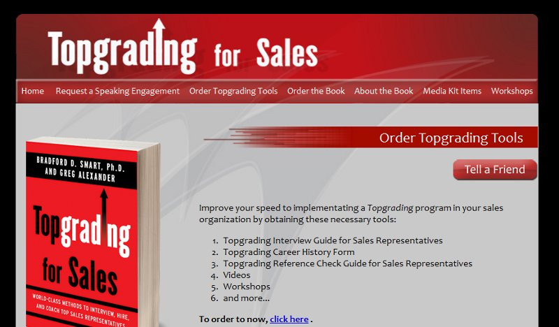 top grading for sales